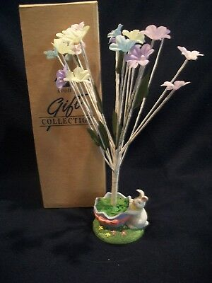 "Vintage 1996 Avon Gift Collection Easter Tree 10"" Tall Original Box EUC"