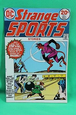 Strange Sports Stories #1 Comic DC Comics Devil World Series Baseball F/VF