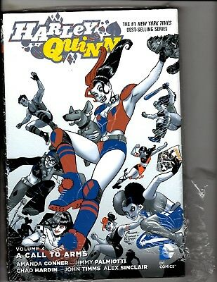 Harley Quinn Vol. # 4 Call To Arms SEALED DC Comics HARDCOVER Graphic Novel J287