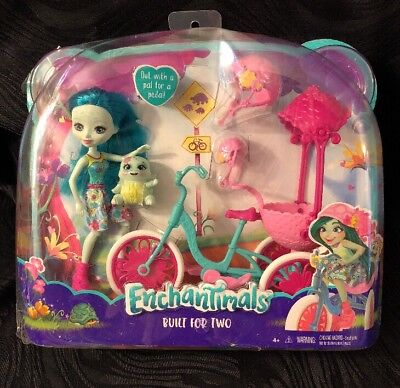 Enchantimals Built for Two Doll Playset Turtle & Tricycle NEW