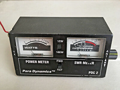 Para Dynamics PDC-2 Power, SWR, & Field Strength Meter For 10 & 11 Meters