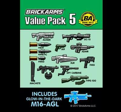 BrickArms Chrome Pack Blade V3 Weapons for LEGO Minifigures NEW /& Sealed