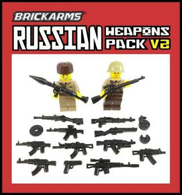 BrickArms German Weapons Pack Guns /& Accessories for LEGO Minifigures NEW//SEALED