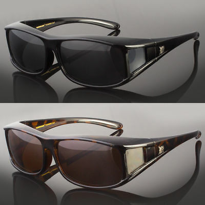 7d148cd191 Polarized Fit Over Sunglasses Cover All Glasses Drive Fish New Wrap Solar  Shield