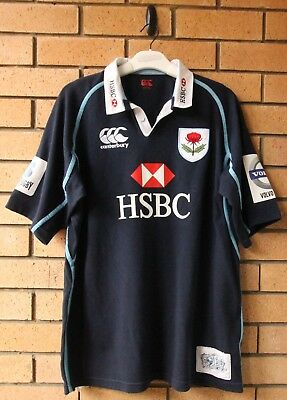 Nsw Waratahs 2012 Commemorative Canterbury Ccc Men's Rugby Jersey Size Xl
