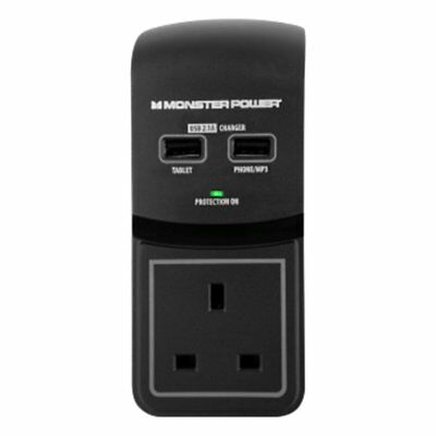 Monster Extreme Power 1 Socket Surge Protector
