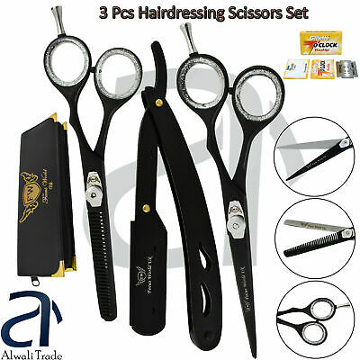 Professional Hair Cutting Thinning Scissors Shears Set Hairdressing Salon Barber