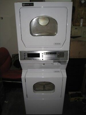 Maytag Commercial DoubleDryer Coin Op Mle23Pdayw Not Tested