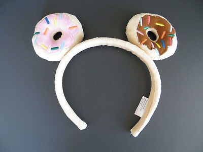 Tokidoki Donutella Plush Doughnut Girls Headband Donut Tan Headband