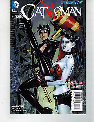 CATWOMAN #39; 1st PRINT; NM; BISEXUAL; HARLEY QUINN VARIANT SHIPS IN A BOX
