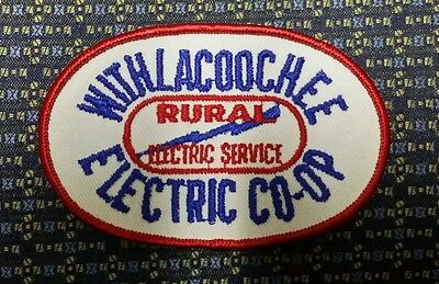 "WITHLACOOCHEE ELECTRIC CO-OP Sew-On Patch 4"" X 2.5"""