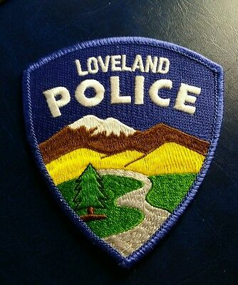 Rare Loveland, Colorado Police Shoulder Patch Co