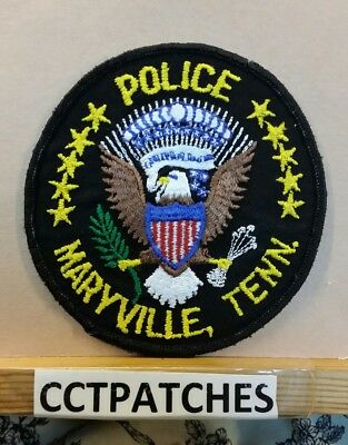 Maryville, Tennessee Police Shoulder Patch Tn