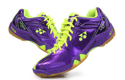 Yonex Unisex Badminton Shoes Power Cushion SHB-02LTD Purple Yellow Racquet NWT