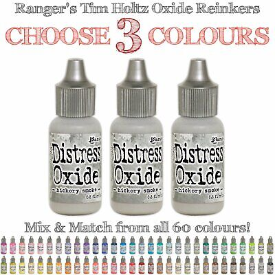 Tim Holtz Distress Oxide Reinker - Any 3 Colours - Choose Your Own