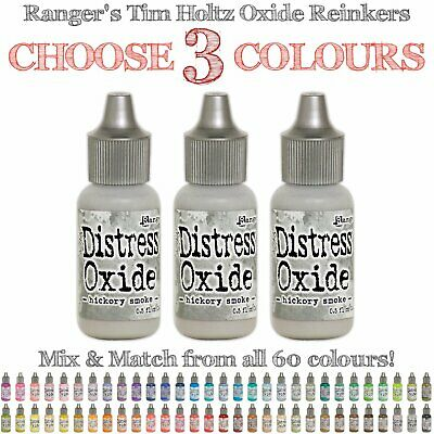 Tim Holtz Distress Oxide Reinkers - 3 Colours - Choose Your Own