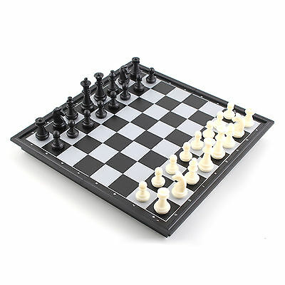 Magnetic Folding Chess Board Box Set Portable Kids Educational Puzzle Game Toy