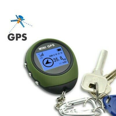 Portable Keychain Wild Mini GPS Tracker Receiver For Outdoor Travel Locator