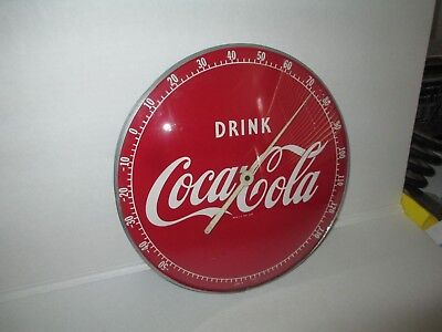 Vintage Coke therometer gauge for advetising