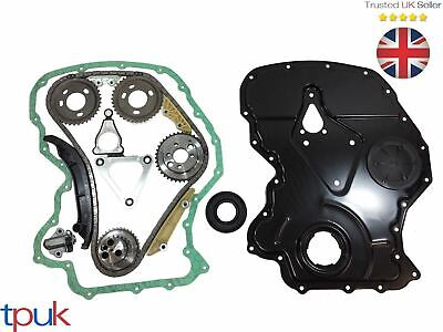 Ford Transit Timing Chain Kit 2.4 Rwd 2006- Mk7 Front Cover / Gasket Crank Seal
