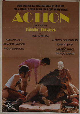 Action -- Cartel de Cine Original --