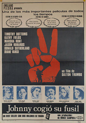 Johnny cogio su fusil -- Cartel de Cine Original --