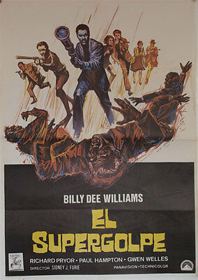 El supergolpe -- Cartel de Cine Original --