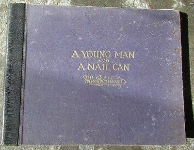 Macrobertson Book A Young Man And A Nail Can Confectionary Chocolate
