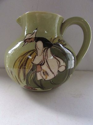 Martin Boyd Pottery Jug Hand Painted Dutch Girl Signed