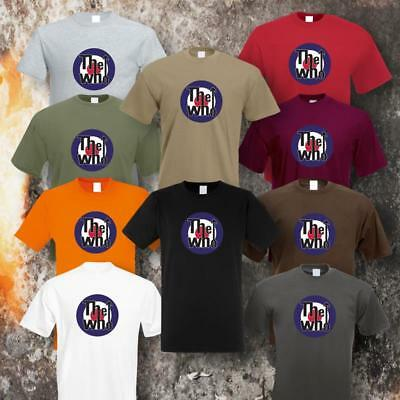 THE WHO TARGET T-SHIRT GRÖSSEN S-5XL (10 Farben)
