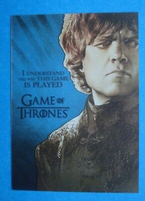 "2013 Rittenhouse **GAME Of THRONES** Season 2 ""GALLERY"" # PL1 Dinklage as TYRION"