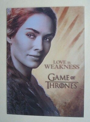 "2013 Rittenhouse **GAME Of THRONES** Season 2 ""GALLERY"" # PL2 Headley as CERSEI"