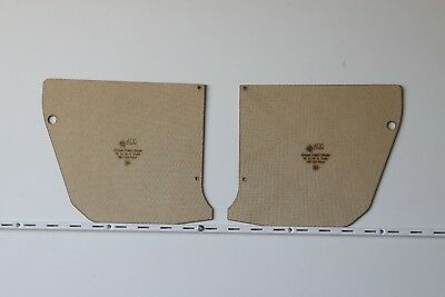 Chrysler Valiant CHARGER VH, VJ, VK, CM, CL Kick Panels. 3mm Quality Masonite