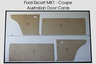 Ford MK1 Cortina Coupe Door Cards. Blank Trim Panels. Mark I (1962–1966)