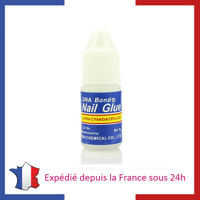 Lot De Colle Pour Faux Ongles / Capsules - 3G - Gel Uv - Nail Art