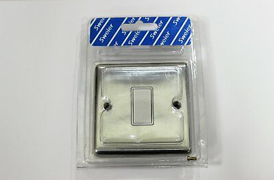 Sweier 1 gang rocker light switch with white inserts 2 way switch sweier 1 gang rocker light switch with white inserts 2 way switch beveled edge publicscrutiny Images