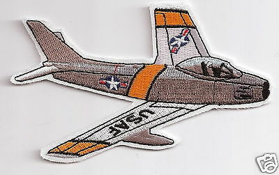 F86 SABRE Aircraft Airplane Aviation Collectiable Embroidered Military Patch