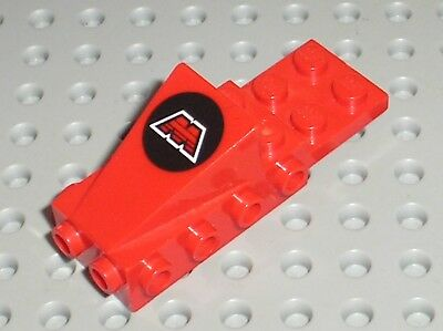 Lego 1x Cockpit Space Nose MTron Logo Pattern 2336p68 red//rouge//rot
