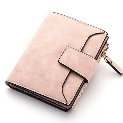 Womens Wallet Leather Lady Money Pouch Bag Hasp Zipper Brand Female Coin Purse
