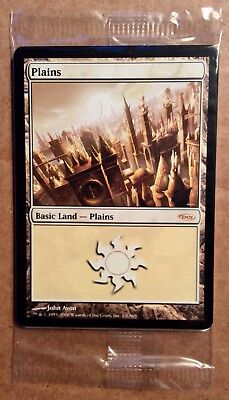 MAGIC THE GATHERING 2006 DCI ARENA PROMO BASIC LAND SET; MTG WotC 8 Sealed Cards