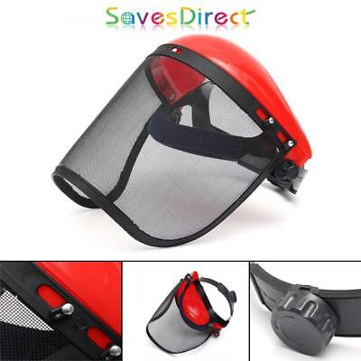 Clear Mesh Visor Flip Up Face Shield Durable Strong Construction Brand New