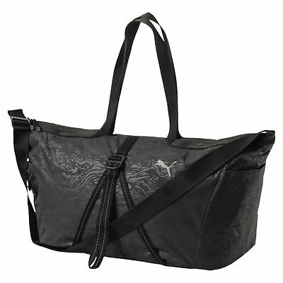 Puma Fit AT Workout Gym Holdall Duffle Sports Holdall Bag Black