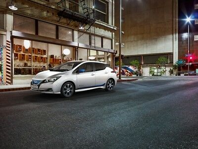 Nissan Leaf 2018 ZE1 EV Design Pack Genuine New IN CHROME OR BLUE