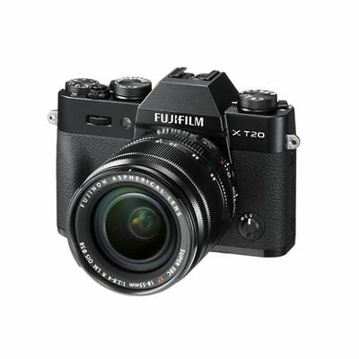 Fujifilm X-T20 XF 18-55mm F2.8-4.0 R LM OIS Kit XT20 Black Original