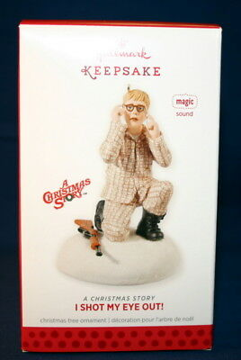 Hallmark Ornament  2013 I Shot My Eye Out!  A Christmas Story--Magic-- Sound