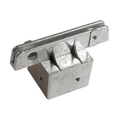 Square Post Street Sign Bracket, Size=2 inch, Bracket Options=Flat Sign in 5.5 i