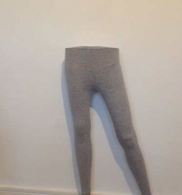 ladies grey leggings size 10 stretch fit new without tags L1