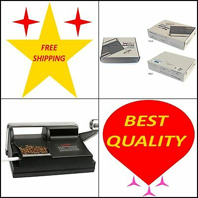 New Powermatic 1 Cigarette Rolling Machine Make King & 100 MM Cigs  Free Ships