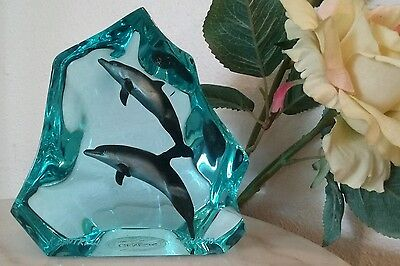 1994 K CANTRELL Dolphins Porpoise #45/1250 GENESIS Limited Edition RELISTED