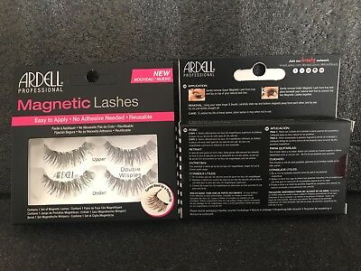X1 Ardell Professional Magnetic Lashes Double Wispies - New*sealed In Box